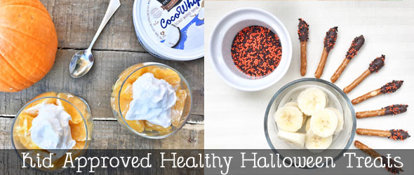 Kid approved healthy halloween treats! @ginaekirk