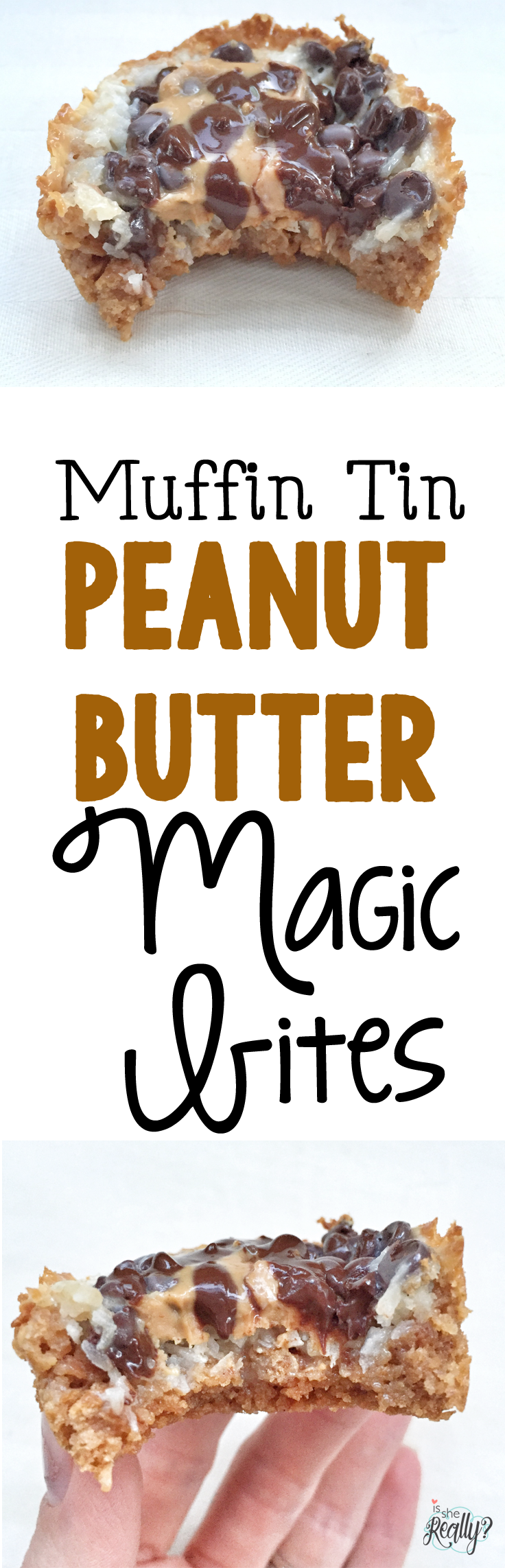 Peanut butter magic bites @ginaekirk