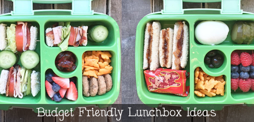 Budget Friendly Lunchbox ideas - GinaKirk.com @ginaekirk