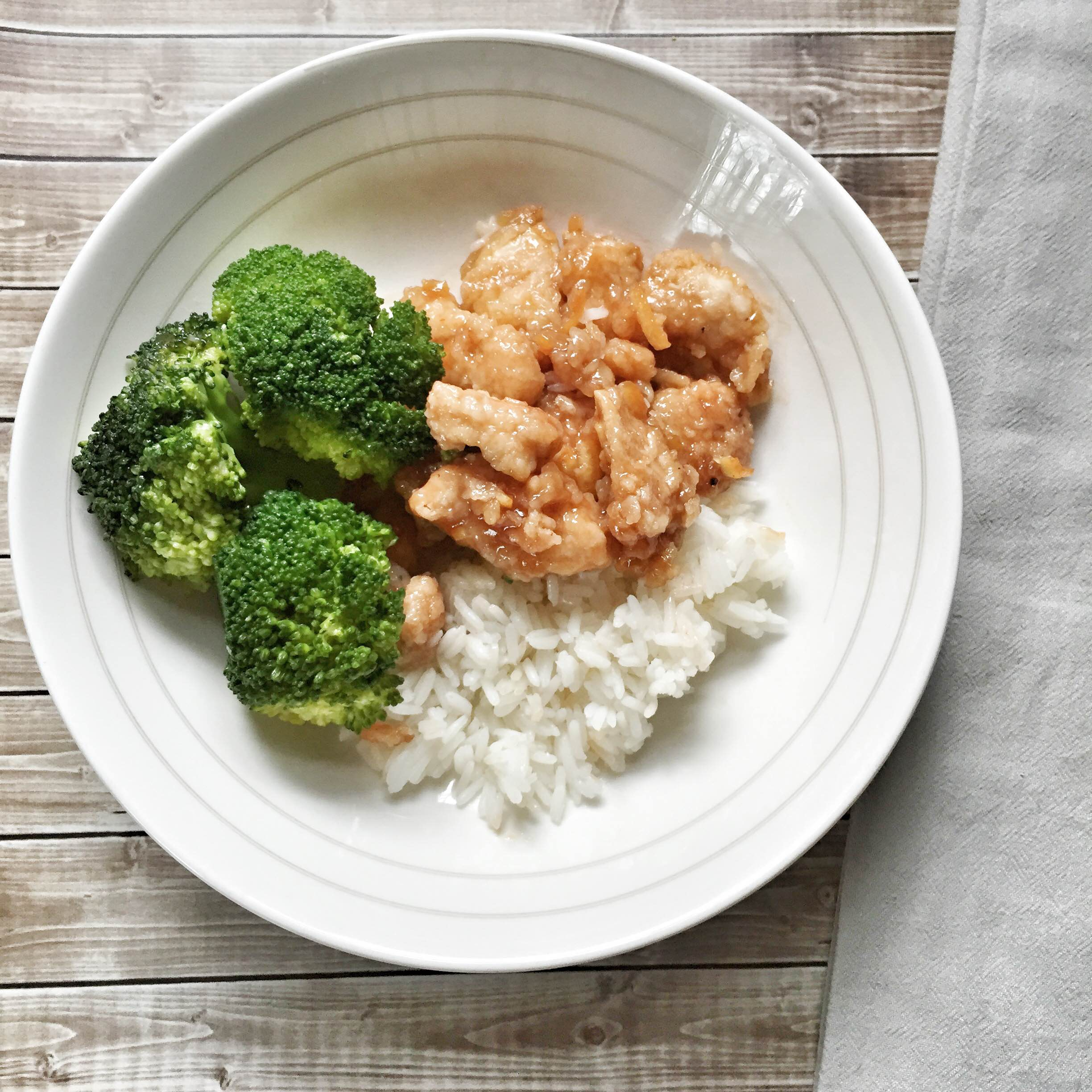 Easy Orange Chicken Recipe GinaKirk.com @ginaekirk