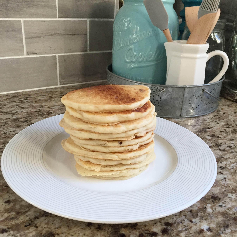 Gluten free, dairy free pancake recipe @ginaekirk GinaKirk.com