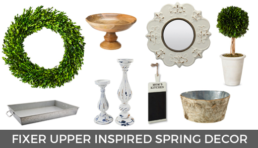 Fixer upper inspired spring decor | Fixer upper finds from Target | Target spring decor finds | Fixer upper for less! GinaKirk.com @ginaekirk