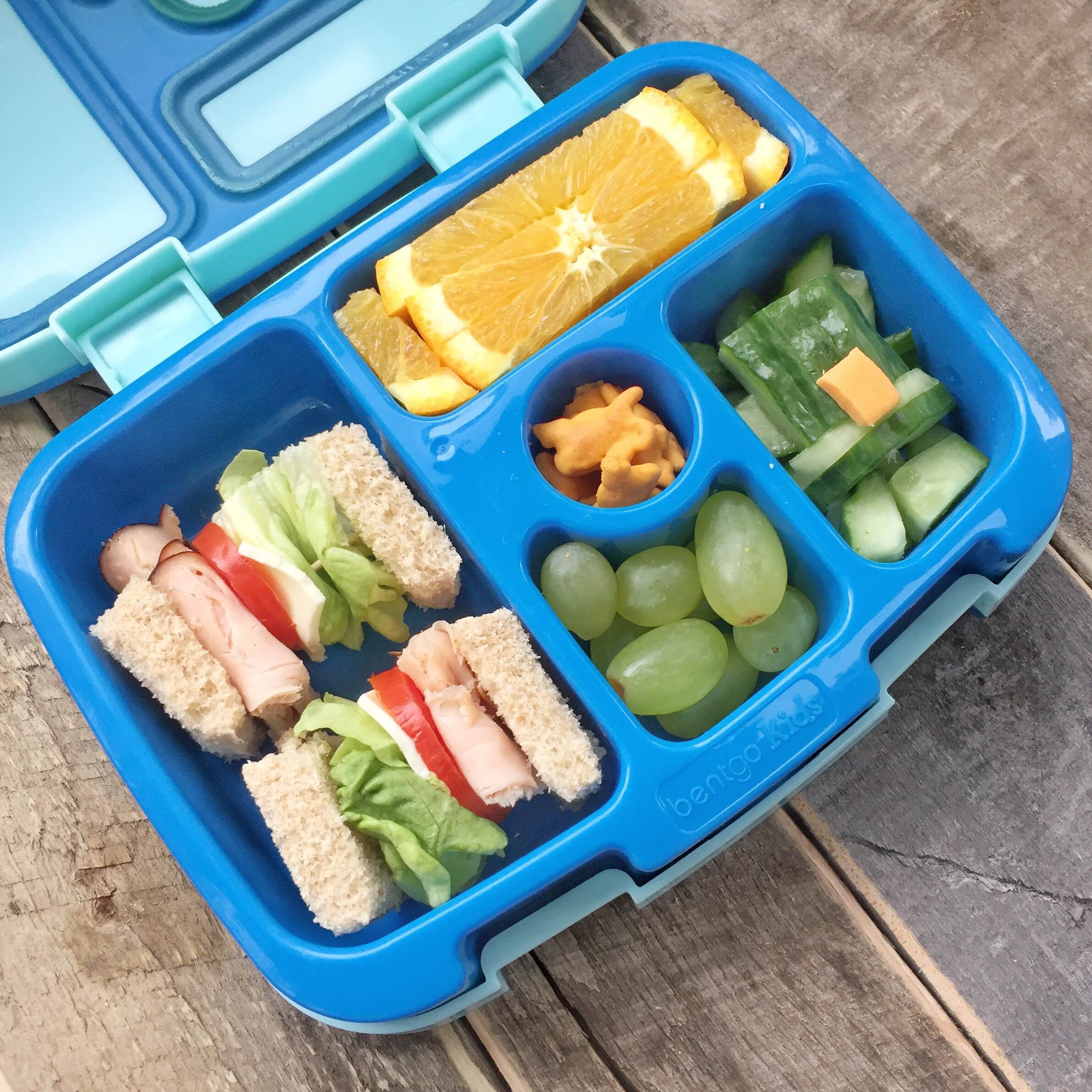 St. Patrick's Day bento lunch | St. Patrick's Day lunchbox ideas | Leprechaun lunchbox! GinaKirk.com @ginaekirk