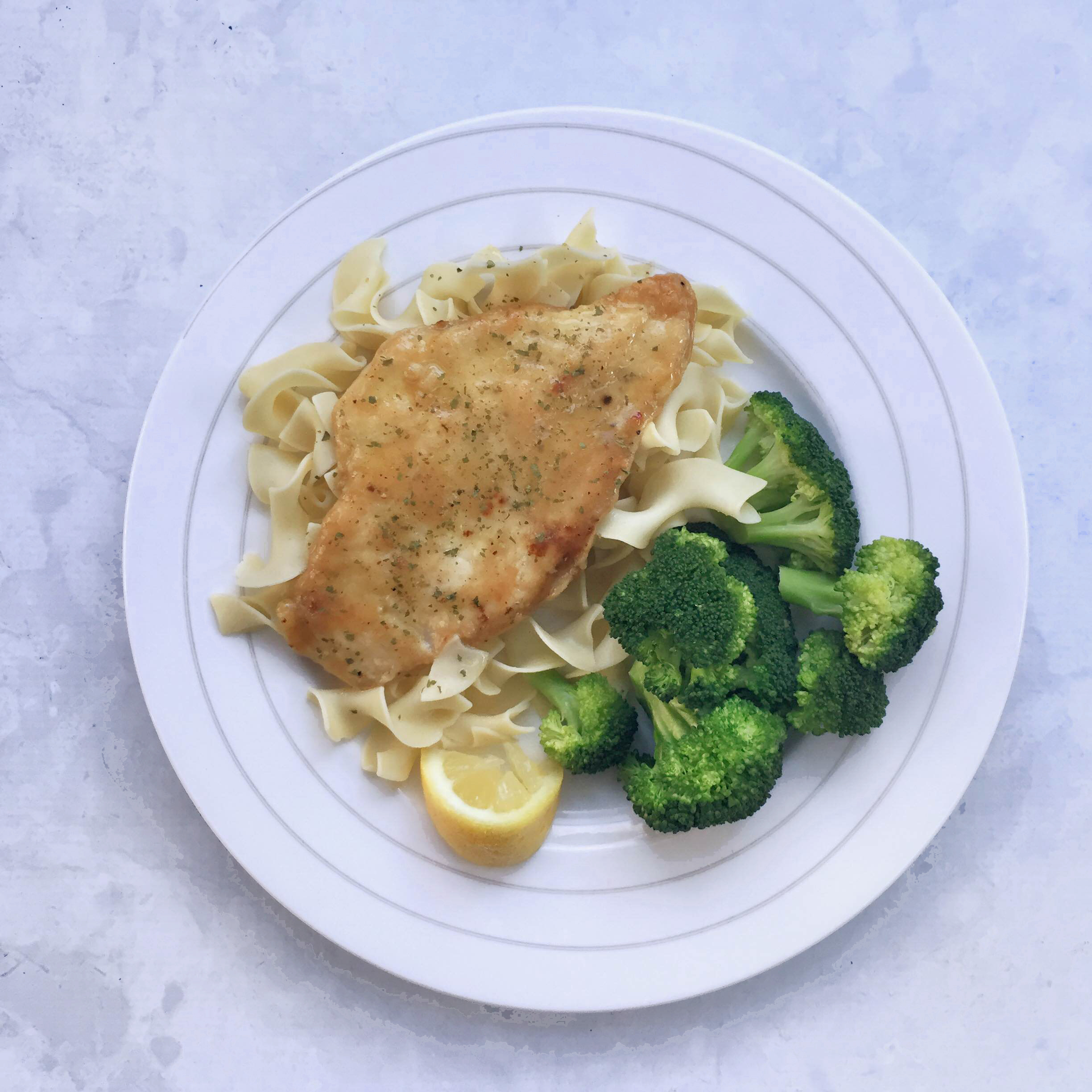 Cheap and easy lemon chicken dinner | chicken picatta | lemon chicken | dairy free gluten free chicken recipe | GinaKirk.com