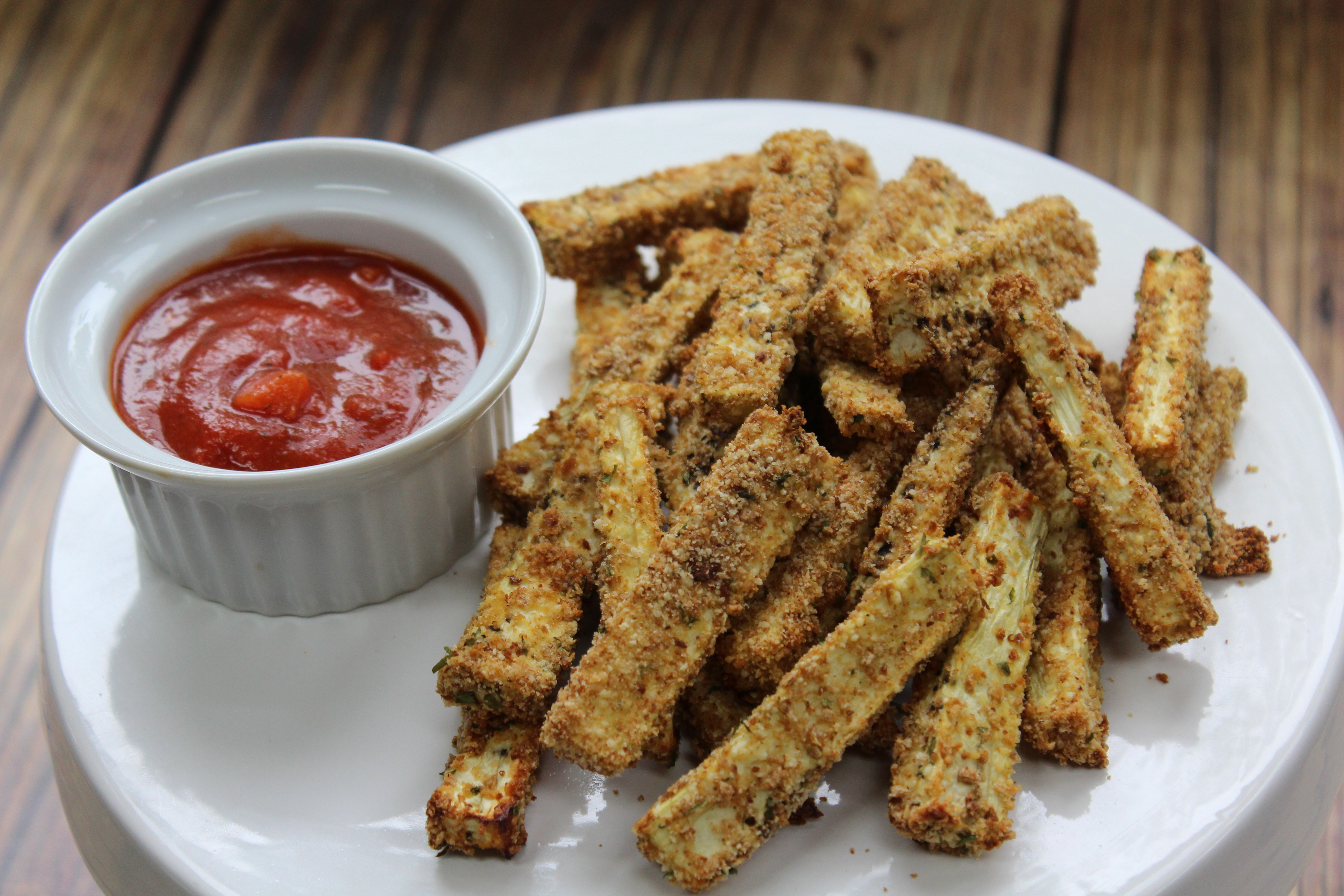 Eggplant fries | Baked eggplant fries recipe | Summer side dish ideas | Sink organization tutorial #ScrubDishCloth #CollectiveBias #ad GinaKirk.com