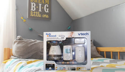 Creating a safe space for toddlers and sleepwalking children #VTechBaby #ad IsSheReally.com