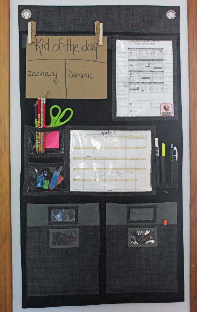 Back to school organization + free printable calendars | GinaKirk.com